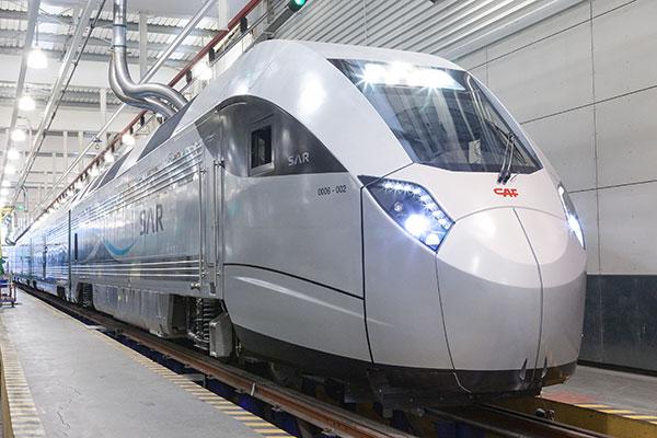 CAF-SAR high speed train for Saudi Arabia