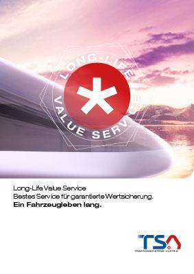 TSA Long-Life Value Service brochure cover