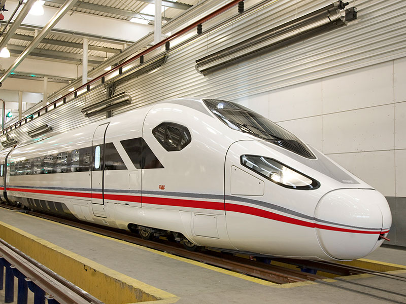 CAF Oaris very High-speed train