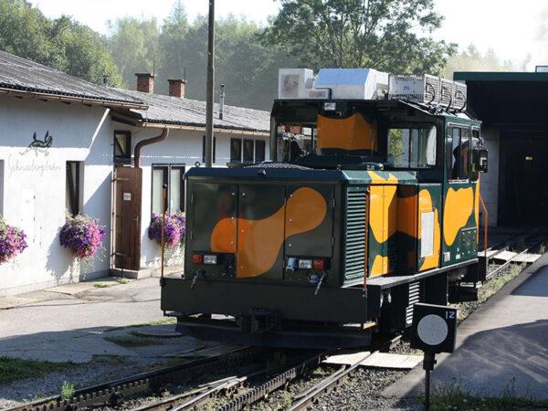 Locomotive Stadler Rail Rack Schneebahnberg
