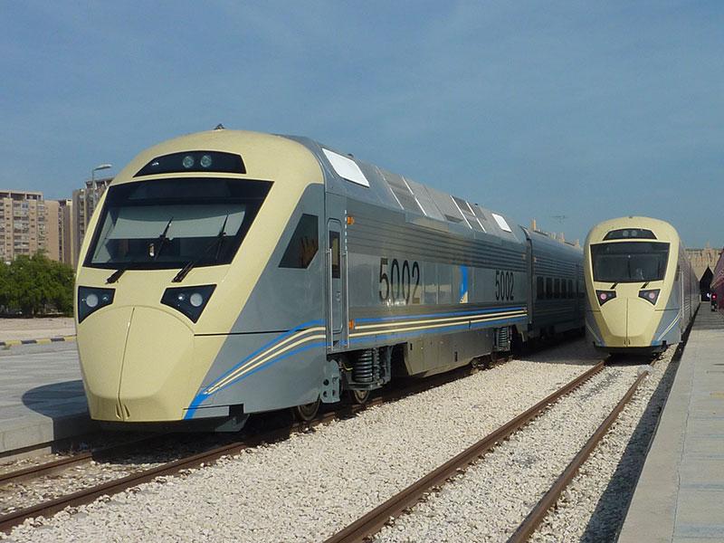 CAF SRO high speed train for Saudi Arabia