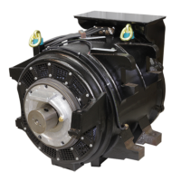 Traction motor for WDG4 locomotive for Indian Railways