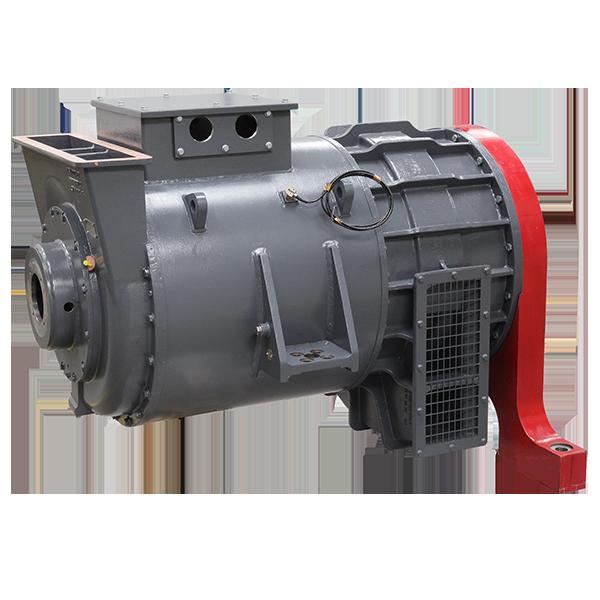Traction alternator for DMU Stadler Rail and Metrovagonmash DPM