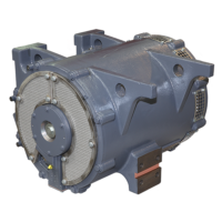 Traction motor for Metrovagonmash metro Moscow