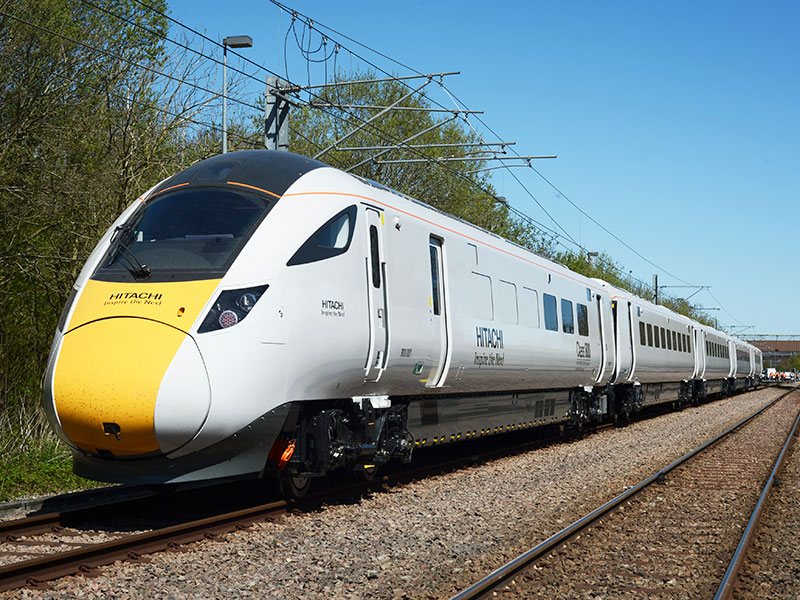 High Speed Train Hitachi Super Express Train IEP Programme UK