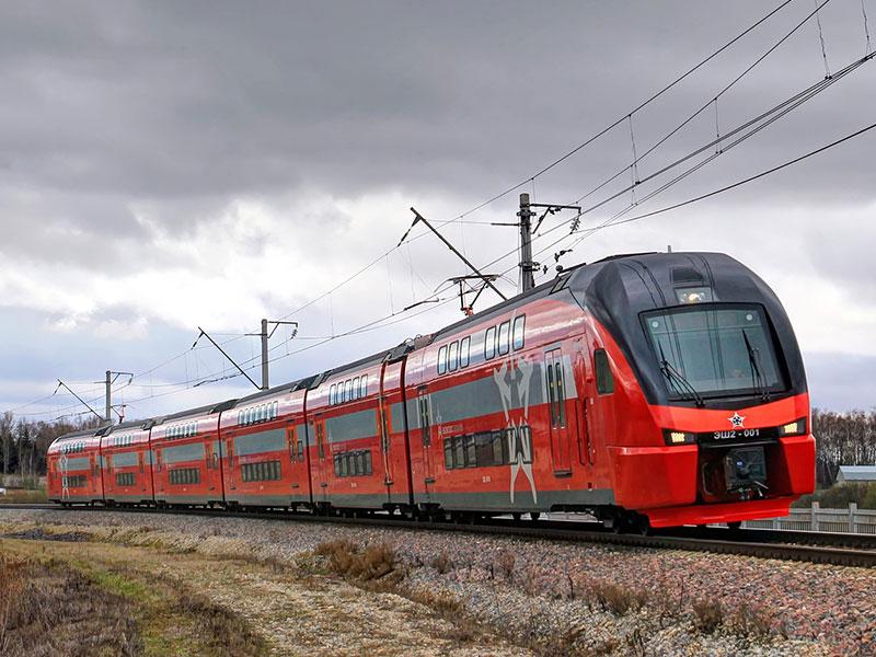 Stadler Rail KISS EMU for Aeroexpress