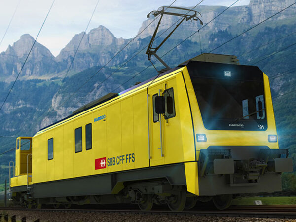 Harsco Rail service and rescue cars for Gotthard Tunnel