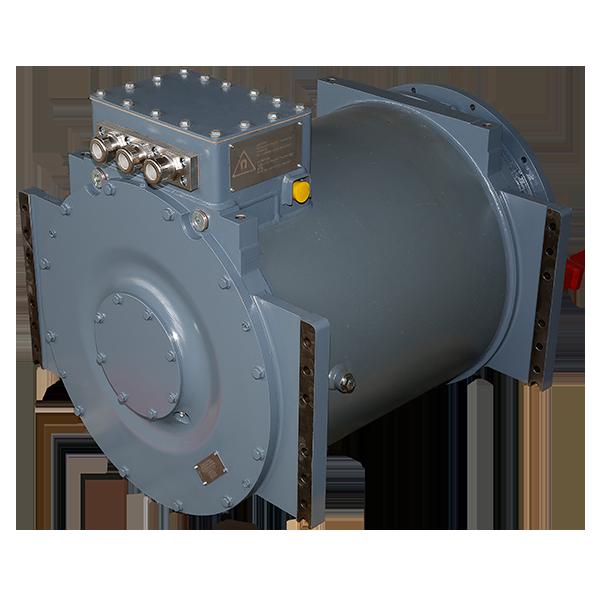 Traction alternator for DMU Newag Vulcano for FCE