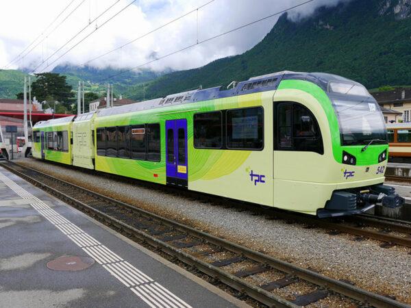 DMU Stadler Rail Narrow Gauge TPC-AOMC for Switzerland