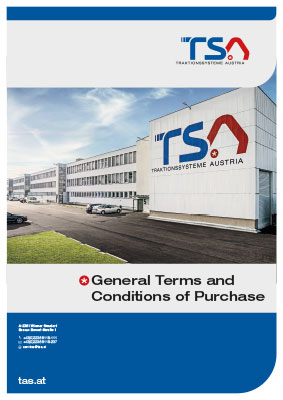 TSA Folder General Terms an Conditions of Purchase - cover