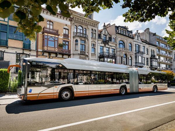 Solaris Urbino 18 electric bus