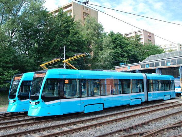 Tram Stadler Rail Tango NF2 Ostrava