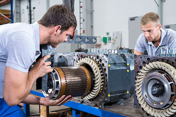 TSA Assembly rotor
